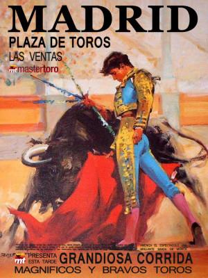 Madrid bullfight october 2017
