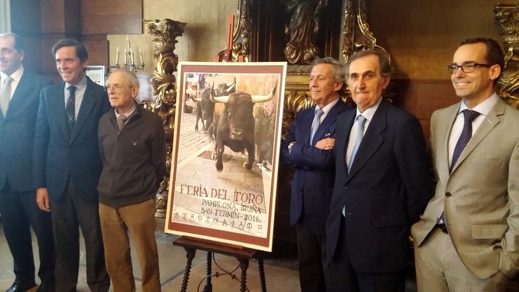 Presentados los Carteles de la Feria del Toro 2016 (San Fermin 2016)