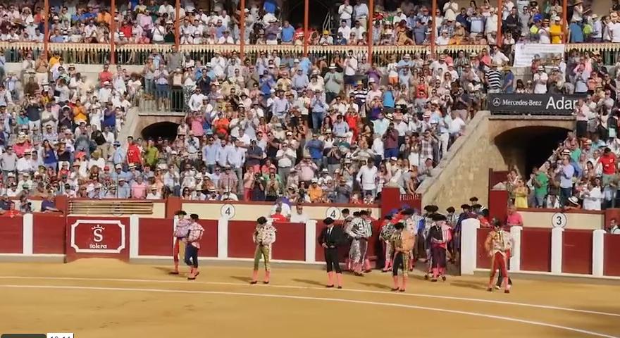 Resumen corrida homenaje a Victor Barrio de Valladolid
