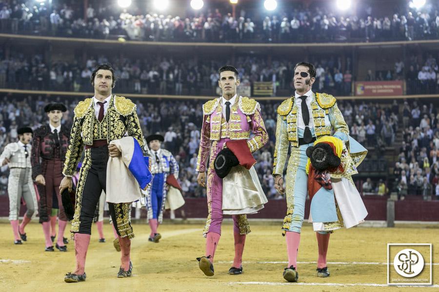 Gran tarde de Padilla, Morante y Talavante en Zaragoza