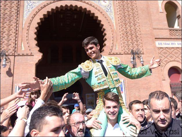 Francisco de Manuel, triunfador del 'Camino hacia Las Ventas'