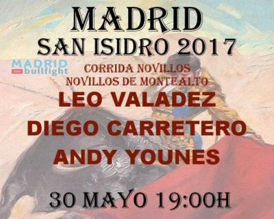 Bullfight Madrid novillos 30 may - Entradas Madrid novillos 30 mayo