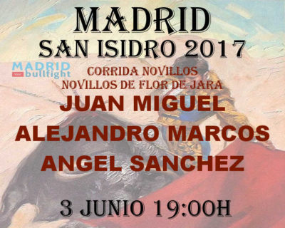 Bullfight madrid 3 june _ entradas toros Madrid 3 junio