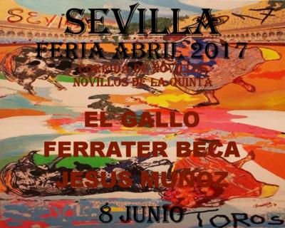 Sevilla Bullfight 8 june novillos- entradas Sevilla novillos 8 junio
