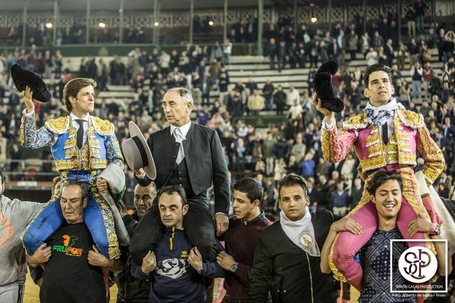 Lopez Simon pardonnez le dernier taureu de Fallas