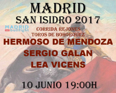 Bullfight Madrid 10 june - Entradas toros Madrid 10 junio