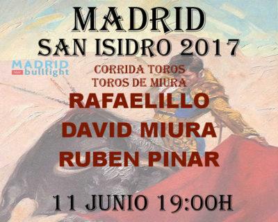 Bullfight Madrid 11 june - Entradas toros Madrid 11 junio