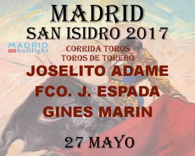 Bullfight madrid 27 may - Entradas toros Madrid 27 mayo