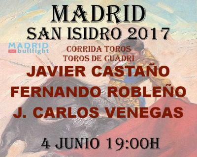 Bullfight Madrid 4 june - Entradas toros Madrid 4 junio