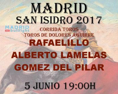 Bullfight Madrid 5 june - Entradas toros Madrid 5 junio