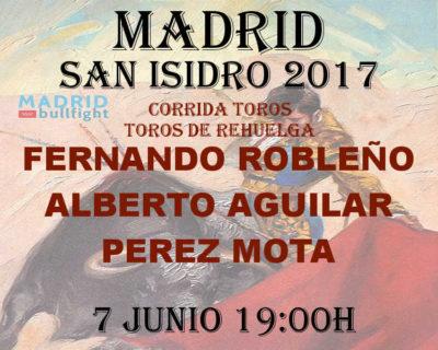 Bullfight Madrid 7 June - Entradas toros Madrid 7 junio