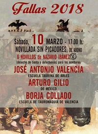 bullfighting valencia 10 marzo