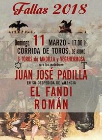bullfighting valencia 11 march