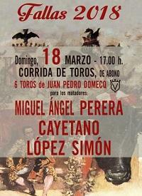 18 marzo toros valencia